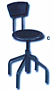 Diesel Stools Low Base with back